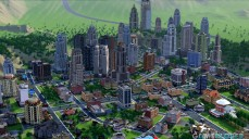 Große Stadt bei SimCity