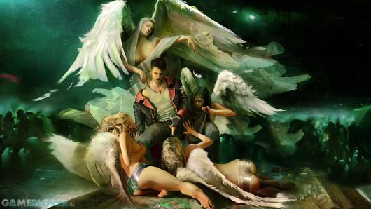 DMC Devil May Cry Artwork Angels
