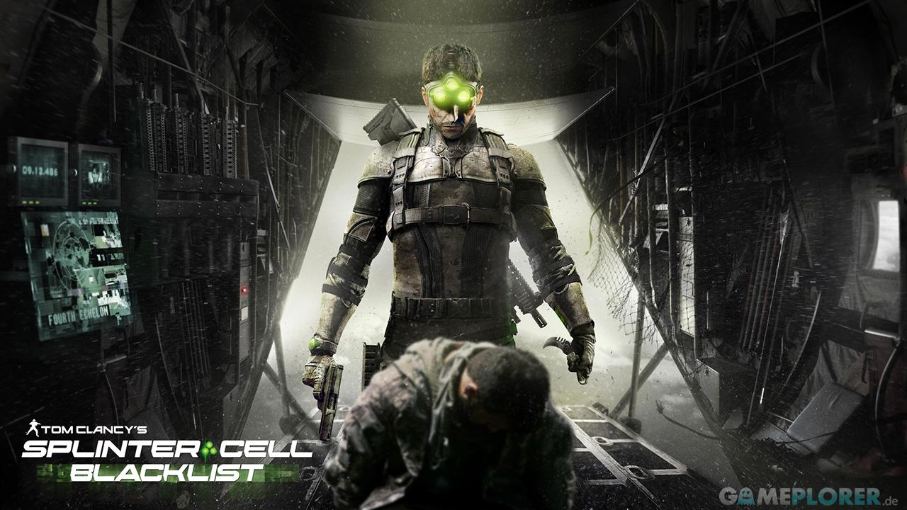Splinter Cell Blacklist Artwork