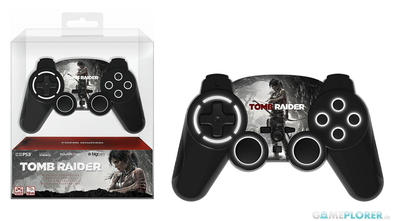 Tomb Raider PlayStation 3 Wireless Design-Controller