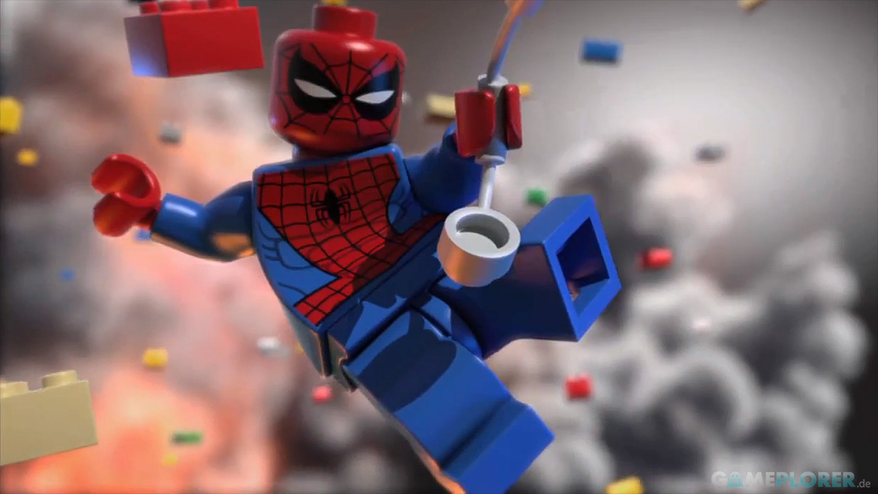 Lego marvel super heroes erster cg trailer zum action adventure