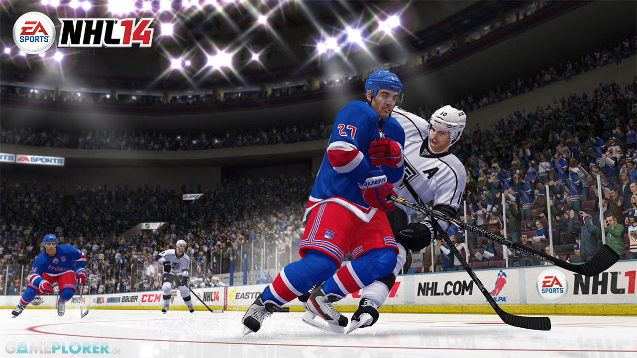 NHL14 - Gameplay