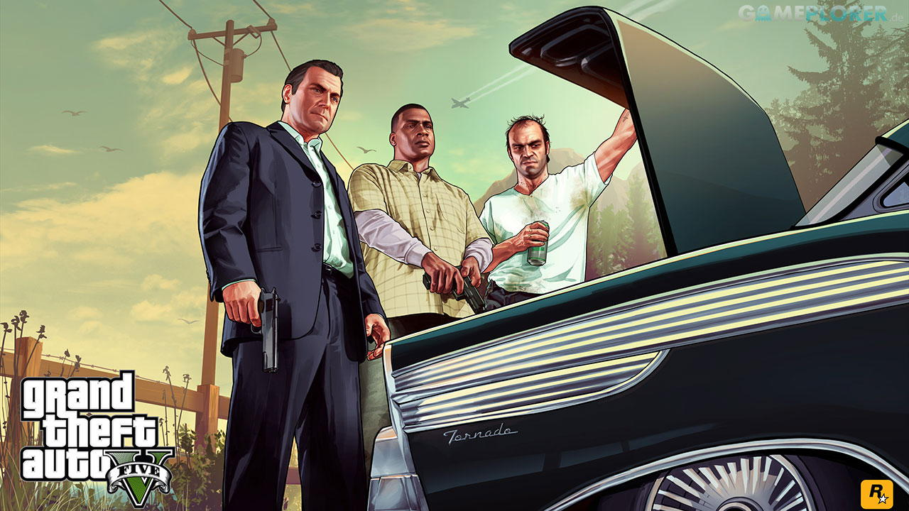Grand Theft Auto 5 - The Trunk