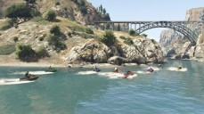 Grand Theft Auto Online - Jetski-Race