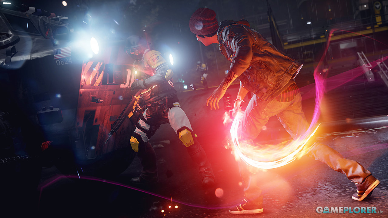 inFamous: Second Son - Fight