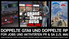 GTA Online - Double GTA$ and RP Event