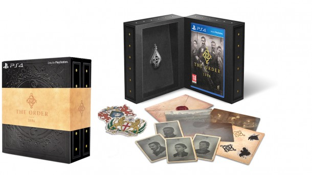 The Order 1886 - Europe Collectros Edition Content