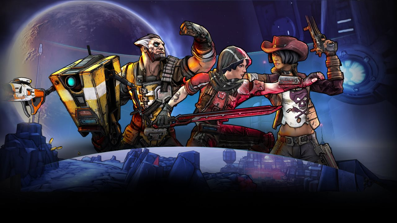 Borderlands The Pre-Sequel - Alle vier Klassen