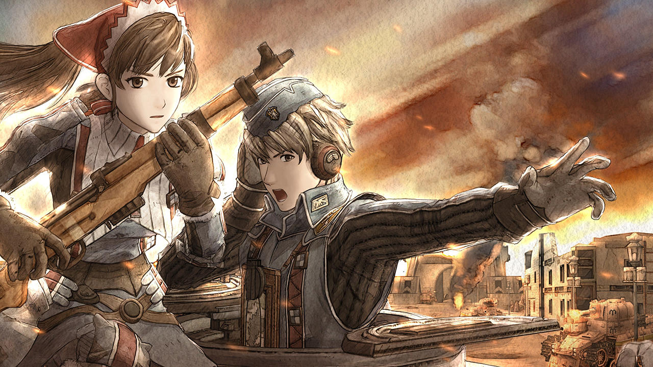 Valkyria Chronicles - Wallpaper