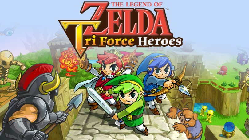 Zelda Tri Force Heroes Deal